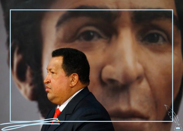 Hugo Chávez y el Libertador