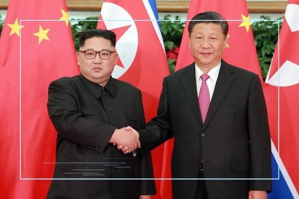 Kim Jong-un y Xi Jinping