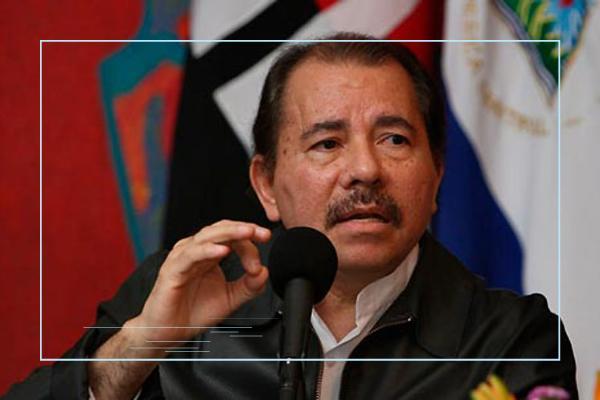 Ortega en Nicaragua