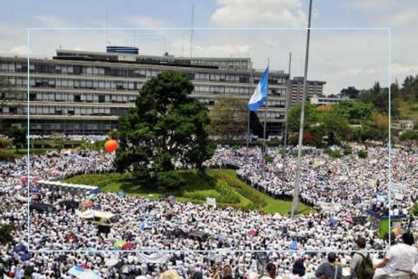 Protesta en Guatemala - Raúl Benoit