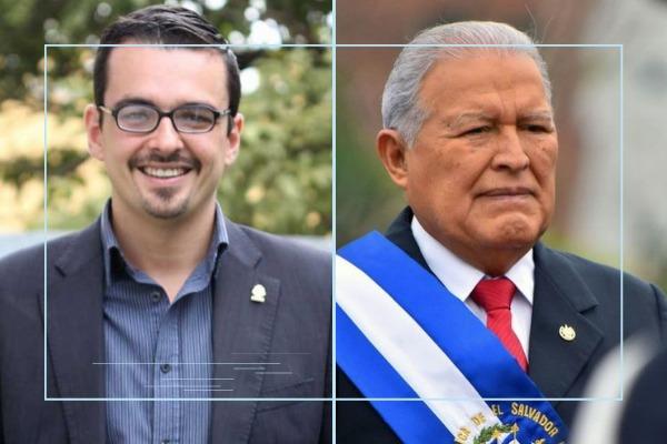 José María Villalta y Salvador Sánchez