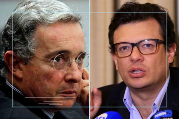 Álvaro Uribe y Hollman Morris